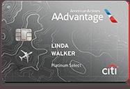Citi®/AAdvantage® Platinum Select® Mastercard®